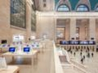 Get a 360-degree view of Apple's Grand Central store using iPhone's gyroscope