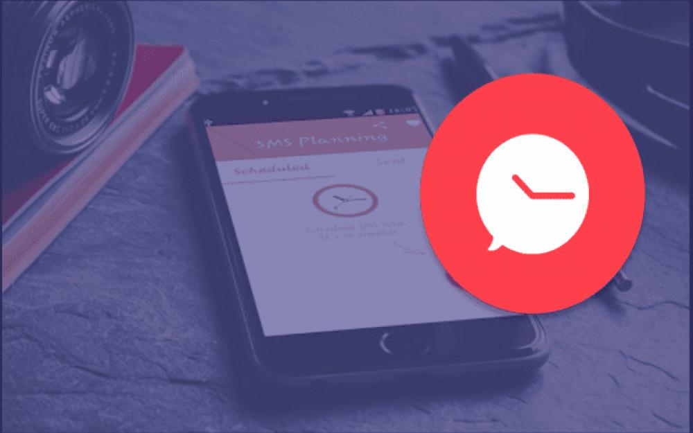 تطبيق رائع يتيح لك جدولة الرسائل في مواعيد معينه