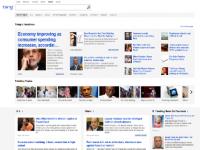 Bing News brings trending stories from Facebook, Twitter